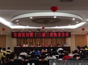 广西妇联召开十三届三次执委会 刘咏梅当选主席