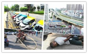 6月19日焦点图:封了两年多 南宁园湖北路恢复通行