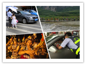 6月20日焦点图:直击柳州礼让斑马线 行人该自律