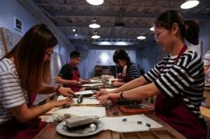 青岛:体验活字印刷