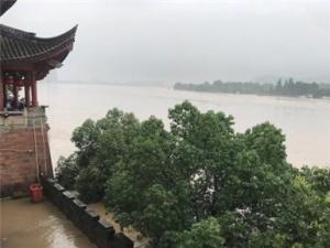 浙江遭暴雨侵袭 钱塘江流域暴发建国后第二大洪水