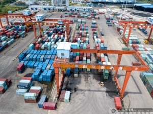 梧州赤水港:打造西江龙头港 年吞吐可达千万吨