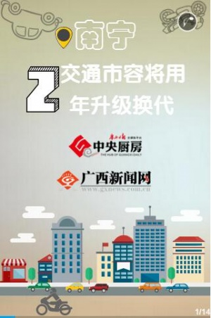 【H5】南宁交通市容将用2年升级换代