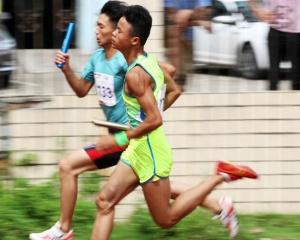 2017广西青少年田径锦标赛闭幕 百色队金牌榜居首