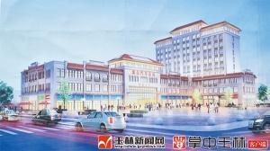 博白新汽车总站建设稳步推进 计划2018年投入运营