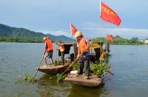 灵山:钦江水源地有这样一支生态保护志愿队