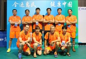 天津全运会群众羽毛球预赛:广西16人晋级10个单项