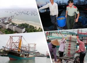 2017年南海伏季休渔期结束 广西渔民出海捕鱼(图)