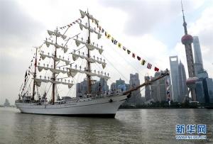 墨西哥海军风帆训练舰访问上海