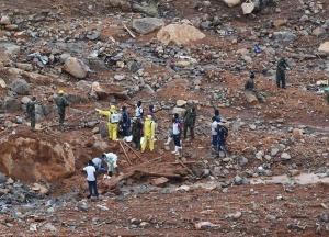塞拉利昂泥石流灾害遇难人数升至499人