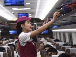 """""""复兴号""""中国标准动车组在京津城际上线运行"""