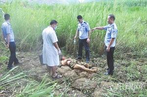 武宣一男子喝醉后被困在干塘 暴晒3天险丧命(图)