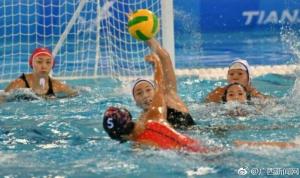 广西队将参加全运会女子水球铜牌争夺战