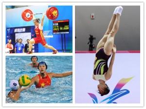 [全运会]张玉娟与奖牌擦肩 广西女子水球将争铜牌