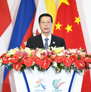 张高丽在第十四届中国-东盟博览会和中国-东盟商务与投资峰会开幕大会上的致辞