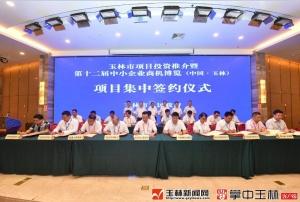 第十二届玉博会首日签约26个项目 总投资116.35亿元