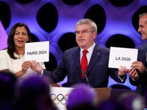 洛杉矶三迎奥运 巴黎百年奥运梦成真