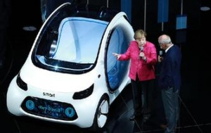 默克尔:德国汽车行业面临挑战