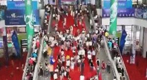 【动图视觉】东博会迎公众开放日 场面火爆人流如瀑