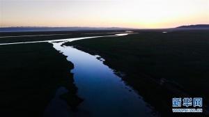 降水偏多致青海湖水体面积增加