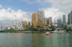百里柳江激情畅游 全国各地游泳爱好者欢聚龙城