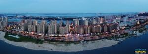 海湾之城蒸蒸日上--防城港建设图展