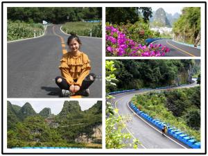"""高清:探寻""""环广西公路自行车世界巡回赛""""最美赛道"""