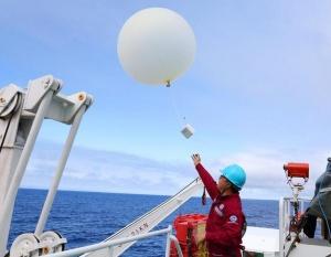 中国海洋科考首次在多圈层同步综合作业