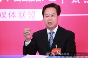 专访十九大代表、崇左市委书记刘有明(图)