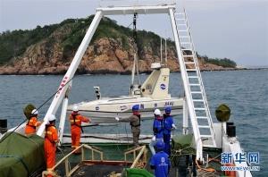 我国首次利用无人艇进行海岸带综合地质调查