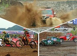 2017年广西体育节:汽车摩托车场地越野赛精彩上演