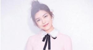 陈妍希仙女粉写真甜美 少女力十足
