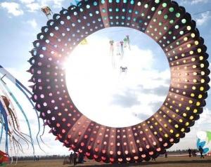 中国如东第十八届国际风筝会开幕