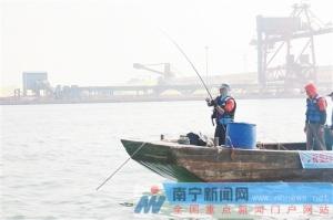 第3届中国—东盟国际海钓大赛结束 广西队再折桂