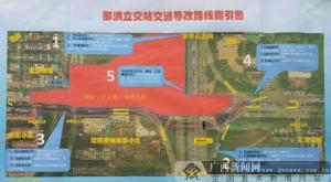 南宁:20日地铁项目封闭施工 那洪壮锦路口禁左转