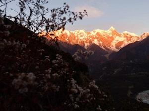 高清组图:美丽的南迦巴瓦峰