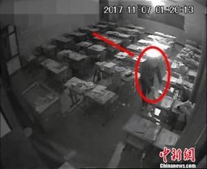 """河北青龙县抓获""""校园大盗"""" 一夜盗窃百余学生"""