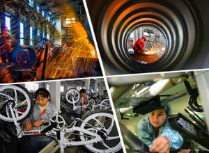高清:展示企业文化 桂林举办首届企业文化摄影展