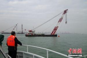 两货轮珠江口碰撞一船沉没 12人下落不明(组图)