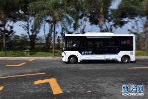 无人驾驶:智能驾驶公交系统深圳首发试运行(组图)