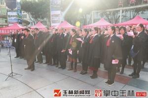 """玉林市开展""""12・4国家宪法日""""宣传"""