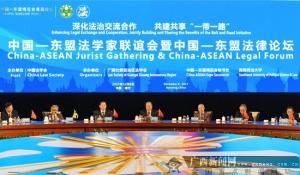 中国-东盟法学家联谊会在南宁举行