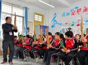 广西三江:侗族文化进课堂