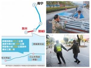 12月9日焦点图:防城港到东兴铁路将于年内开建