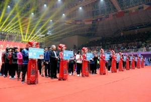 中国—东盟乒乓球赛开幕 张继科刘诗雯等助阵(图)