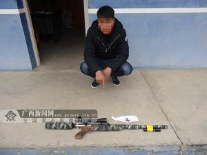 隆安:男子为打鸟网购零件组装气枪被查处(图)