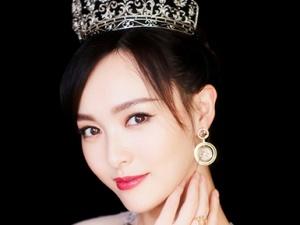 唐嫣佩戴公主王冠出席活动 典雅高贵