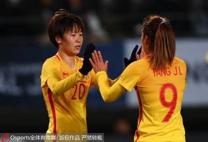王珊珊蝎子摆尾 任桂辛世界波 中国女足3-1韩国