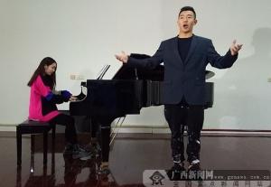 国家一级演员吴柏成唱响卡内基 演绎广西特色民歌