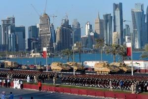 卡塔尔举行国庆阅兵彩排